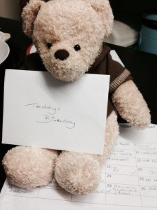 Winner Teddys birthday was February 29th